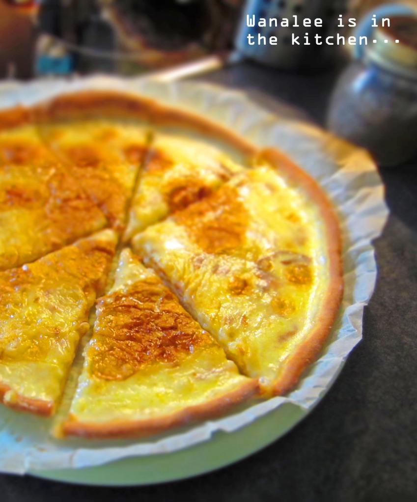 L'authentique salée au sucre (ou tarte à la crème)