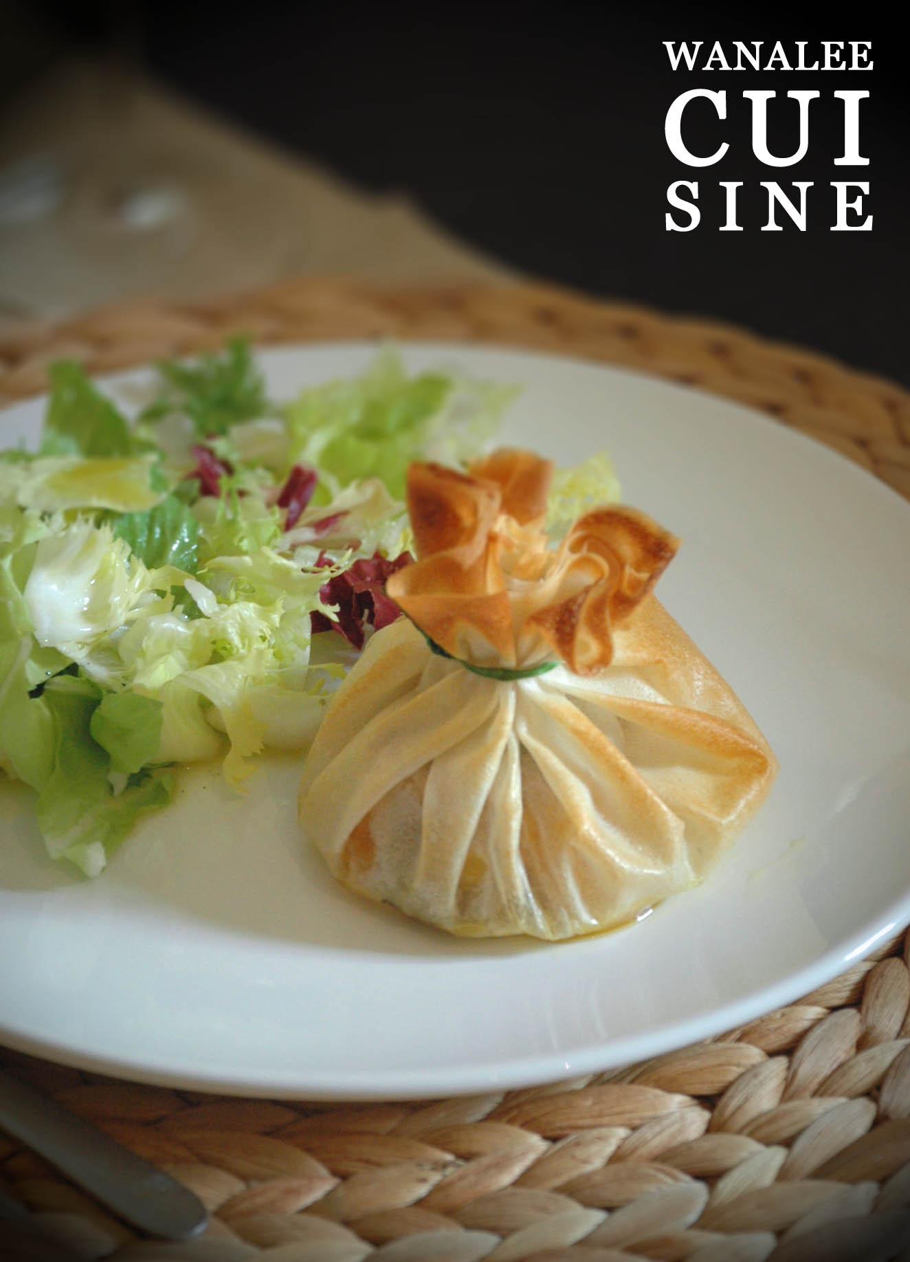 Entr e foie gras orginale wanalee cuisine for Entree avec du foie gras froid