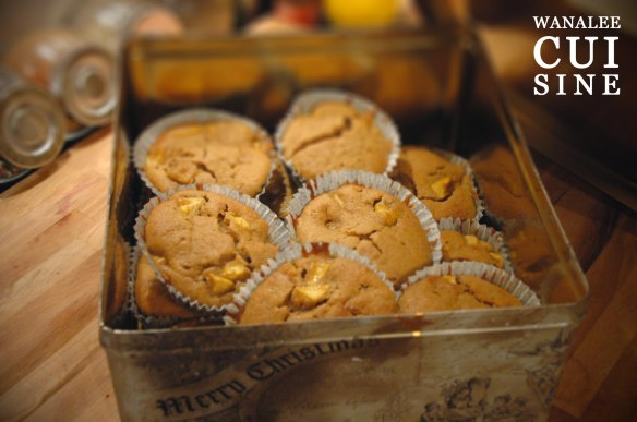 Muffins pommes fromage blanc