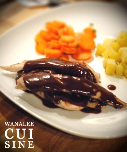 Aiguillettes canard chocolat