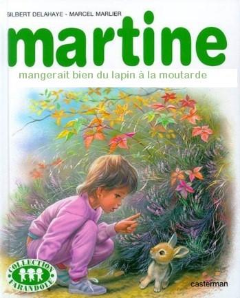 Martine mangerait bien du lapin moutarde