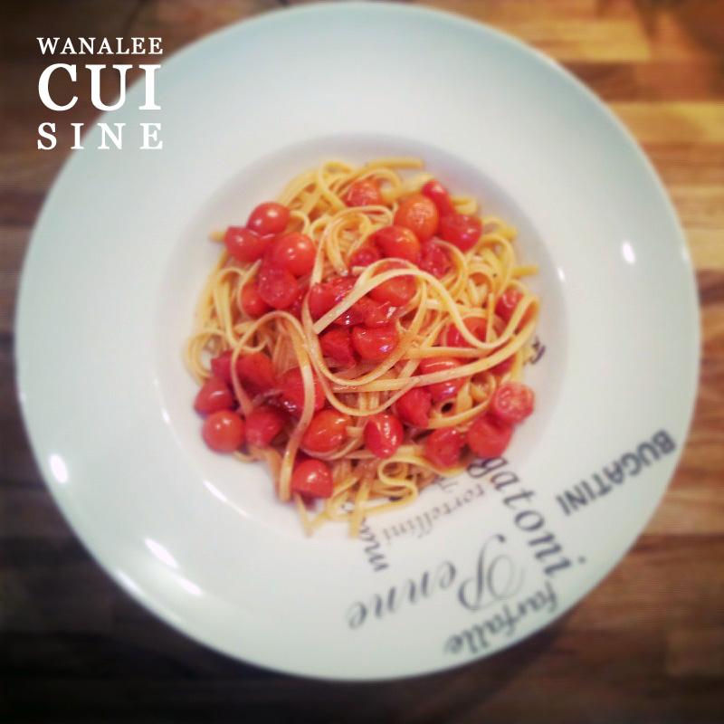 Spaghetti tomates porto