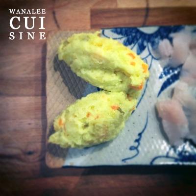 Purée de patate japonaise
