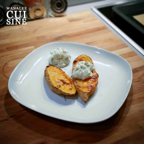 Patates douces cream cheese