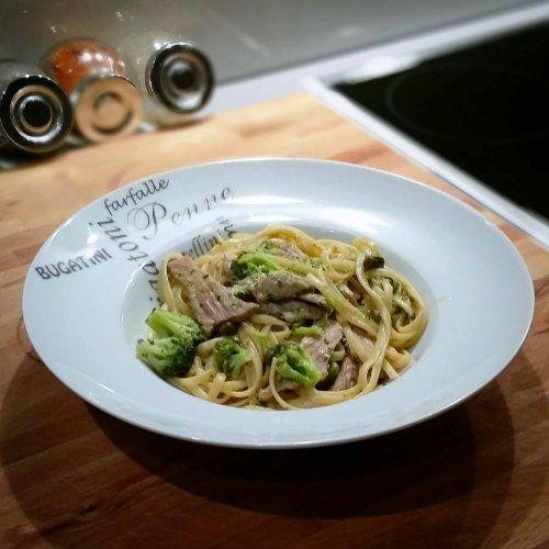 Spaghetti veau brocoli