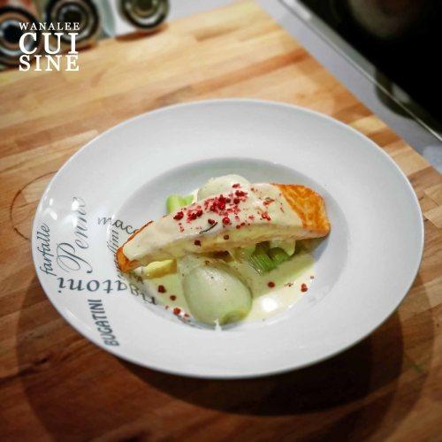 Saumon crème anis
