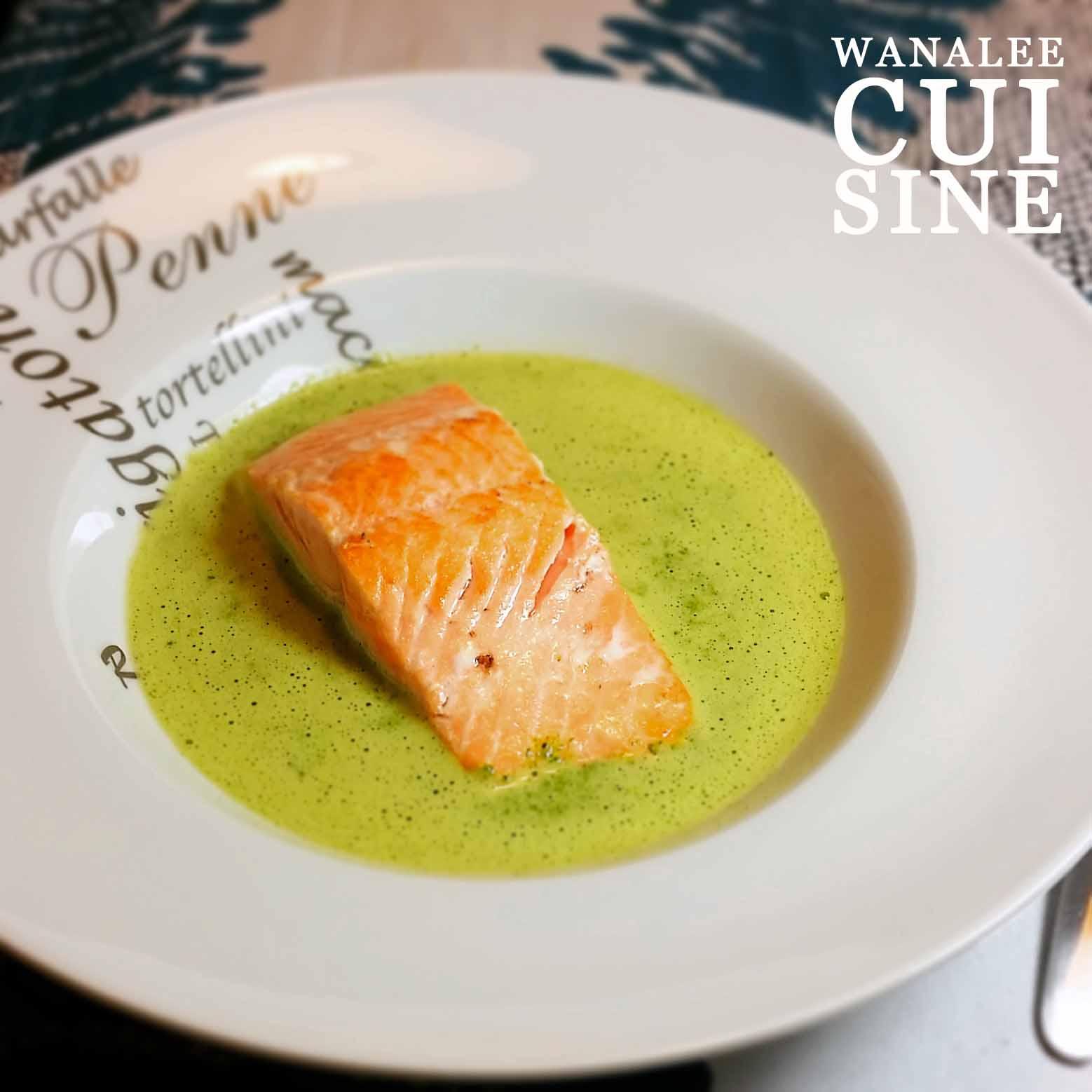 pav 233 de saumon cr 232 me de cresson wanalee cuisine
